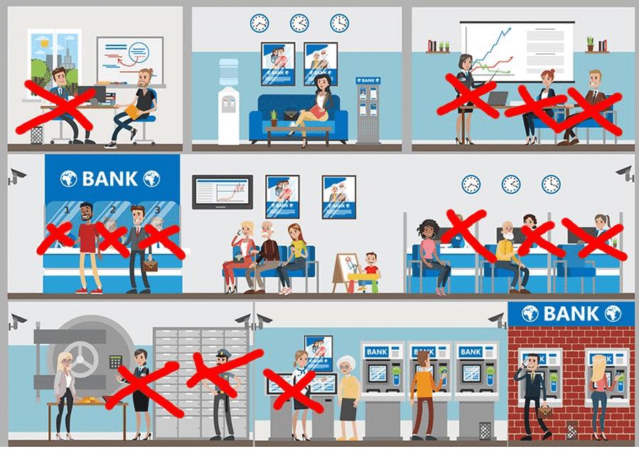 Trabajos Bancarios Blockchain
