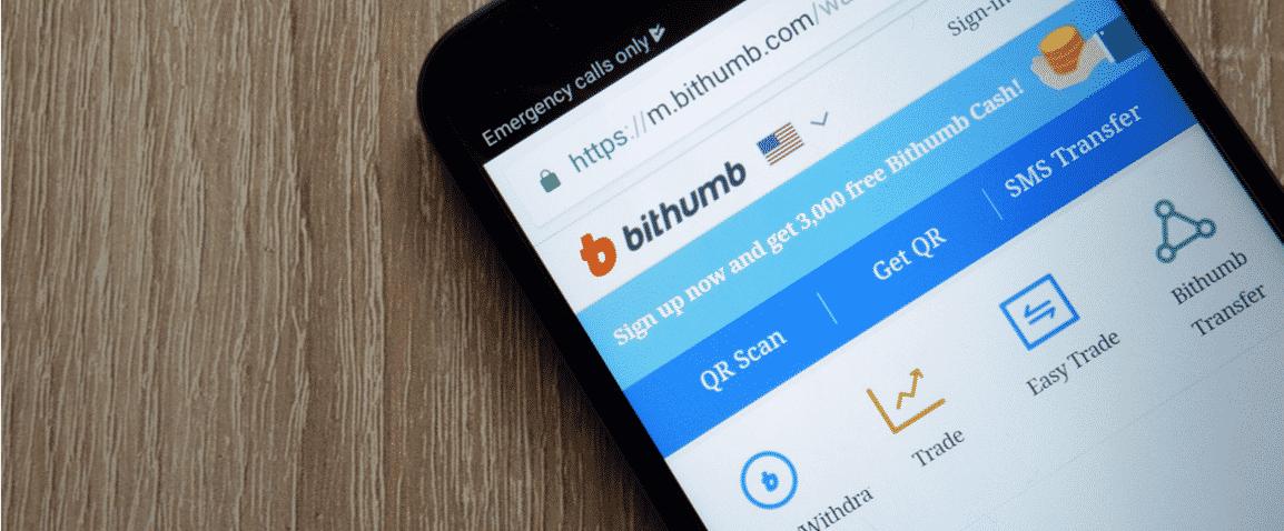 Bithumb exchange descentralizado