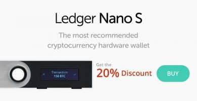 Ledger Nano S oferta 20% descuento