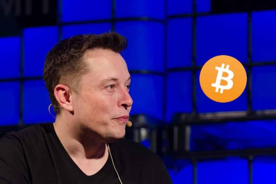 Elom Musk Bitcoin BTC Dinero de Papel