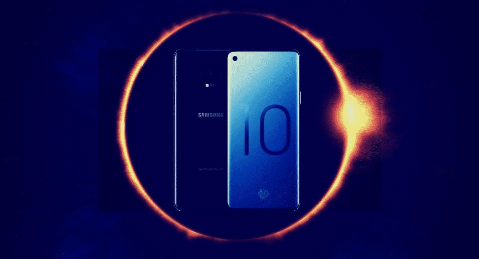 Samsung Galaxy S10 Blockchain Wallet Crypto