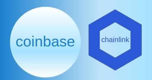 Chainlink LINK efecto Coinbase